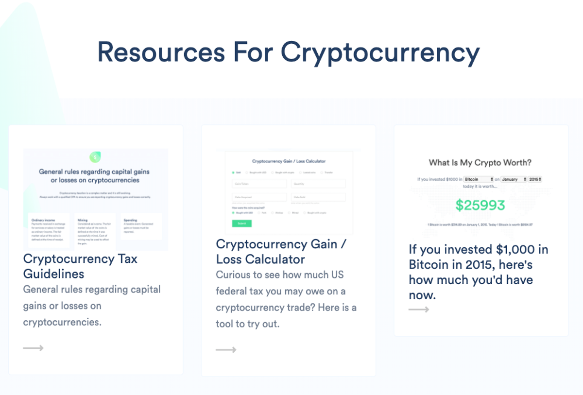 taxes cryptocurrency losses