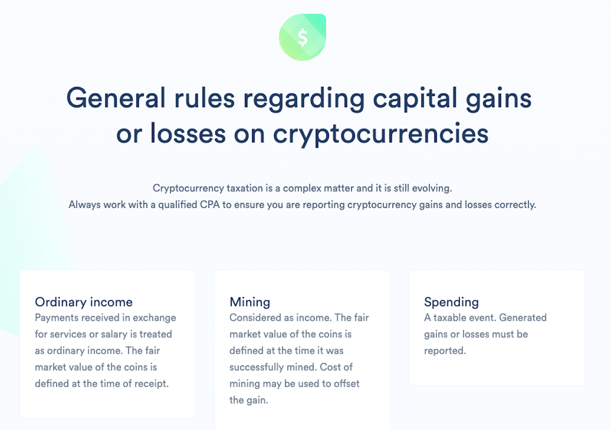 how to file taxes on cryptocurrency gains